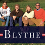 City Council candidate Dane Blythe with wife and sons